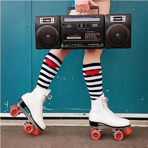 rock'n'wall - the real rollerdisco - Rollerdisco, Dj Mo